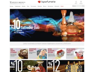 laparfumerie.ru screenshot