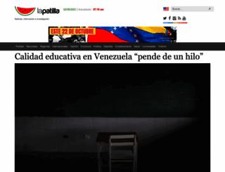 lapatilla.com screenshot