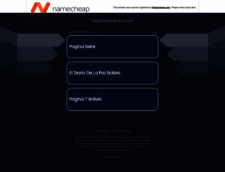 lapatriaenlinea.com screenshot