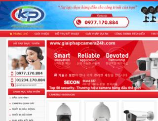 lapdatcamerahaiduong.com screenshot