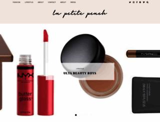 lapetitepeach.com screenshot