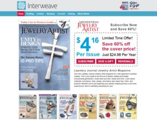 lapidaryjournal.secure-subscription-form.com screenshot