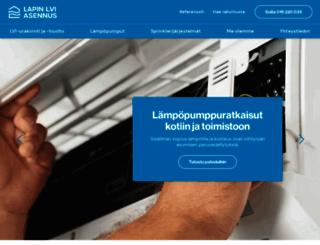 lapinlviasennus.fi screenshot