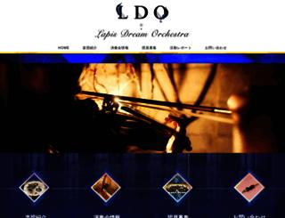 lapisdream.org screenshot
