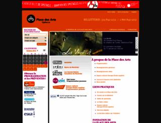 laplacedesarts.com screenshot
