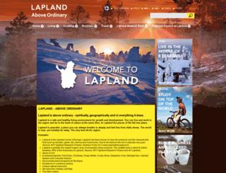laplandfinland.com screenshot