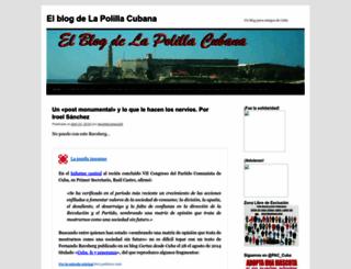 lapolillacubana.nireblog.com screenshot