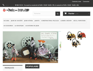 lapouleauxjeuxdor.com screenshot