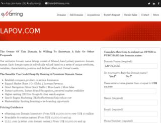 lapov.com screenshot