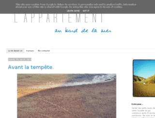 lappartemer.blogspot.fr screenshot