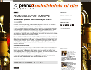 laprensacastelldefelsaldia.blogspot.com.es screenshot
