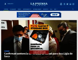 laprensagrafica.com screenshot