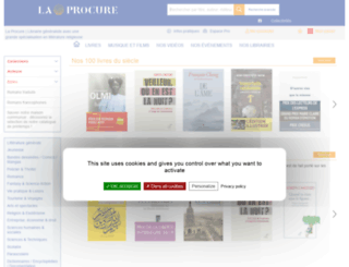 laprocure.epagine.fr screenshot