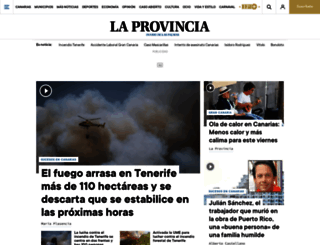laprovincia.es screenshot