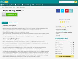 laptop-battery-saver.soft112.com screenshot