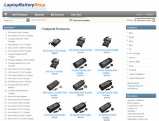 laptop-battery-shop.com.au screenshot