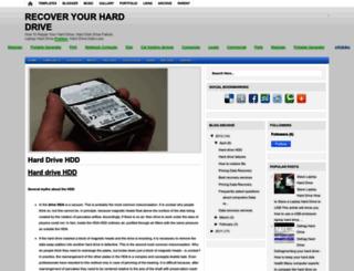 laptop-hard-drive-recovery-info.blogspot.com screenshot