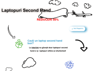 laptop-second.ro screenshot