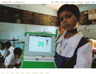 laptop.org screenshot