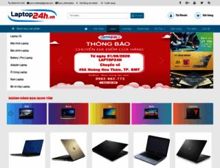 laptop24h.vn screenshot