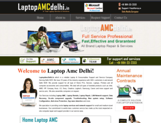 laptopamcdelhi.in screenshot