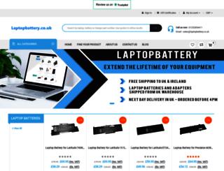 laptopbattery.co.uk screenshot