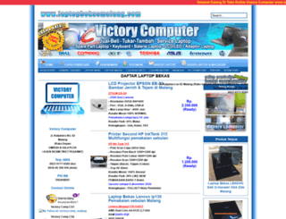 laptopbekasmalang.com screenshot