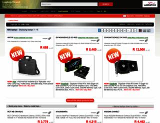laptopdirect.co.za screenshot