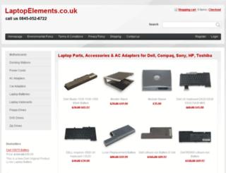 laptopelements.co.uk screenshot
