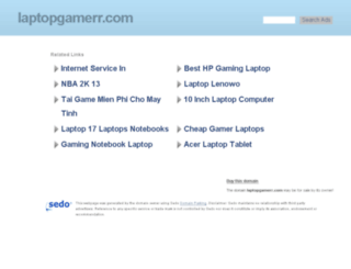 laptopgamerr.com screenshot