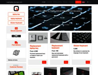 laptopkey-europe.com screenshot