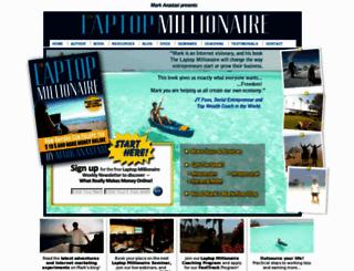 laptopmillionaire.tv screenshot