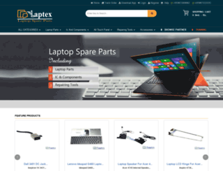 laptopparts.in screenshot