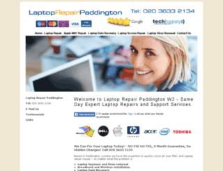 laptoprepairpaddington.co.uk screenshot