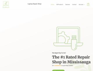 laptoprepairshop.ca screenshot