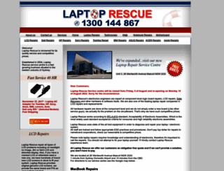 laptoprescue.com.au screenshot