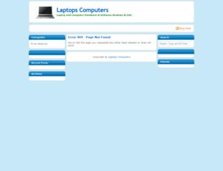 laptopscomputers.co.uk screenshot