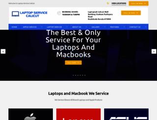laptopservicecalicut.in screenshot