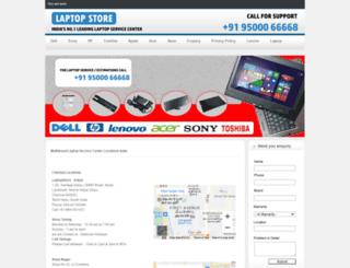 laptopservicecenterchennai.in screenshot