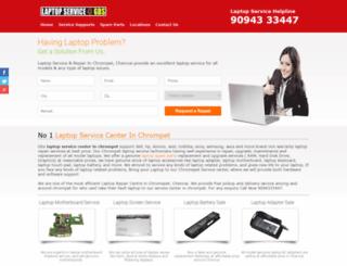 laptopservicecenterinchrompet.com screenshot