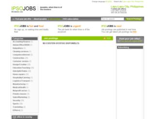 lapucity.ipsojobs.com screenshot
