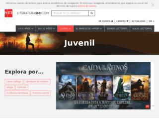 lapuertaoscura.grupo-sm.com screenshot