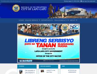 lapulapucity.gov.ph screenshot