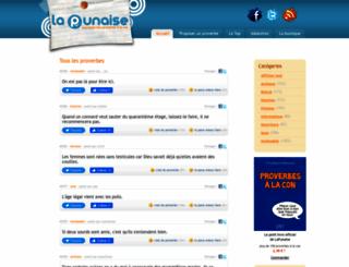 lapunaise.fr screenshot