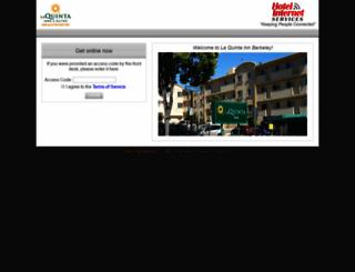 laquintainnberkeley.hotelwifi.com screenshot