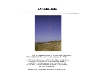 laradio.info screenshot