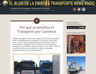 laradiodeltransporte.wordpress.com screenshot