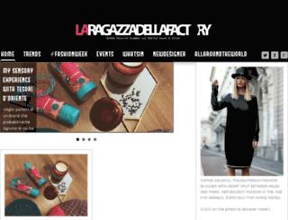 laragazzadellafactory.com screenshot