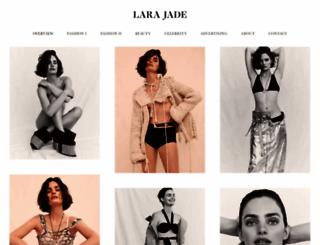 larajade.com screenshot