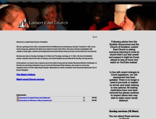 larberteastchurch.com screenshot